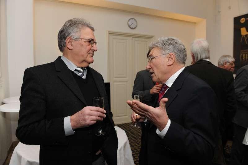 Helmut Macher im Gespräch mit Jacques Mambriani