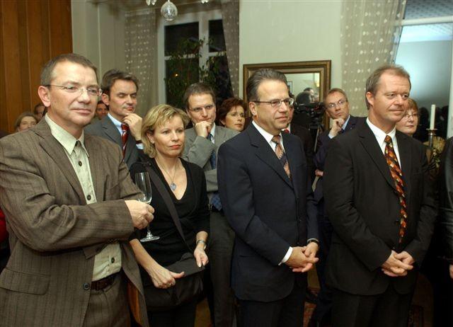 Willibrord Ney, Michael Thieser, Susanne Dahlem, Dr. Burkhard Jellonek, Conny Hermann, Frank-Jürgen Weise, Udo Recktenwald, Thomas Kleist, Ulrike Klös