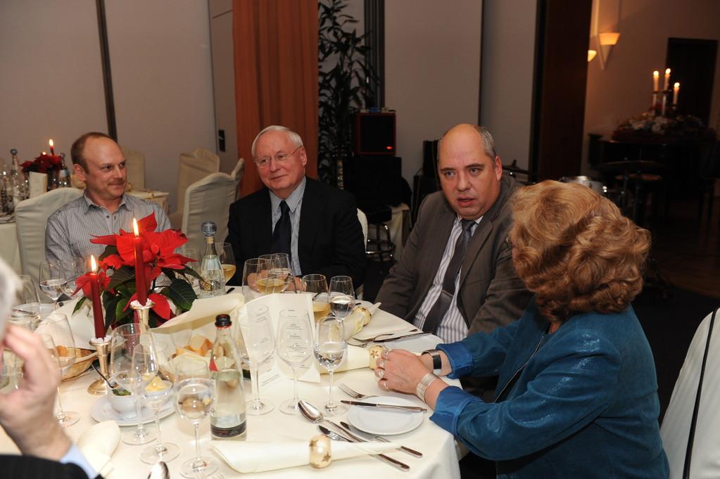 Thomas Brück, Oskar Lafontaine, Karsten Neumann, Frau Lorenz