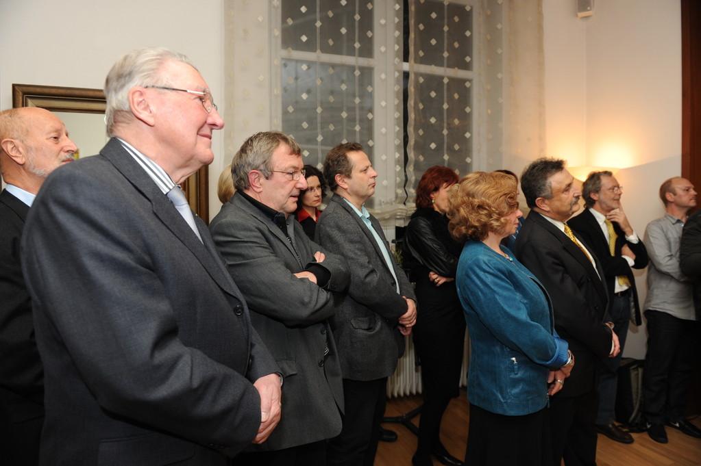 Georges Wagner-Jourdain, Prof. Heinrich Schüssler, Daniel Mollard, Daniela Bach, Jörg Fischer, Ehepaar Lorenz, Thomas Brück