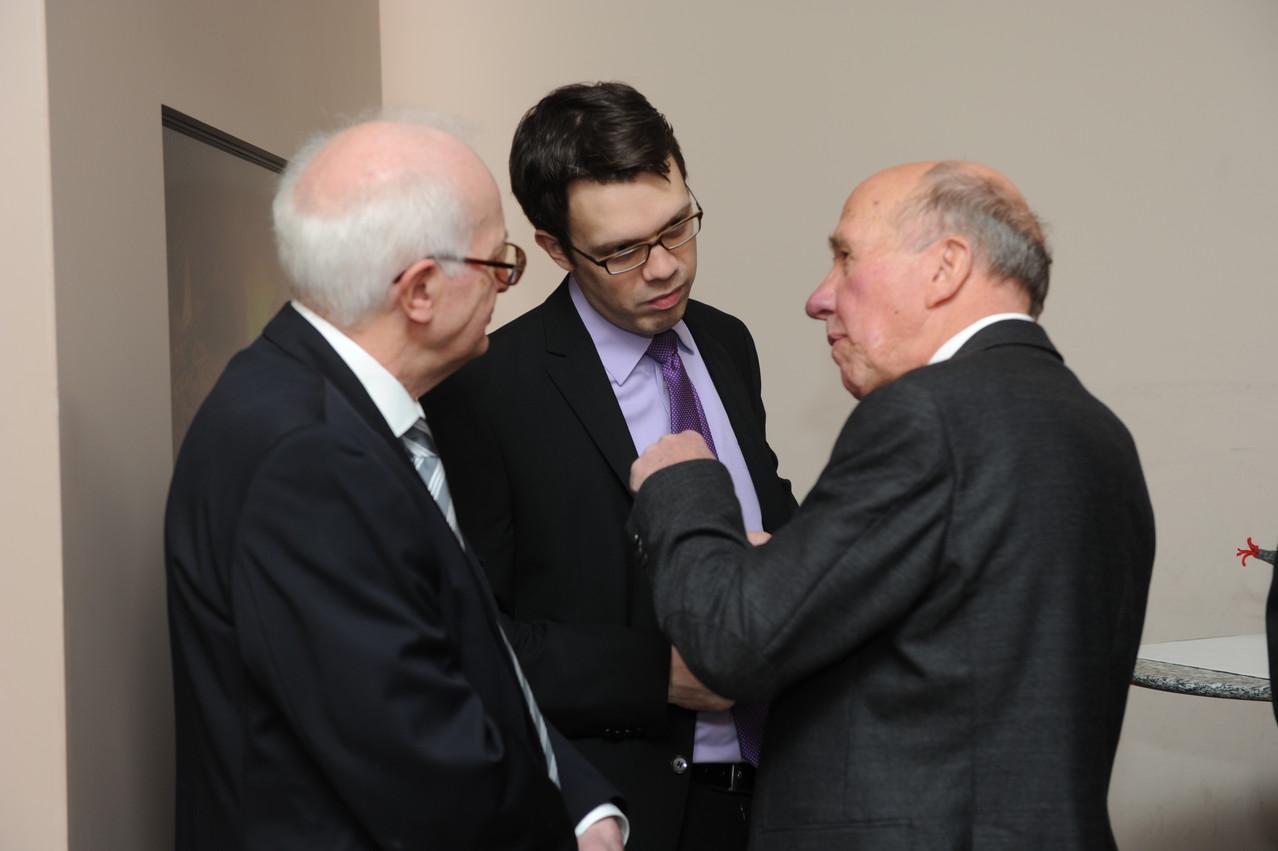 Clemens Sebastian, Dr. Daniel Kirch, Prof. Axel Buchholz