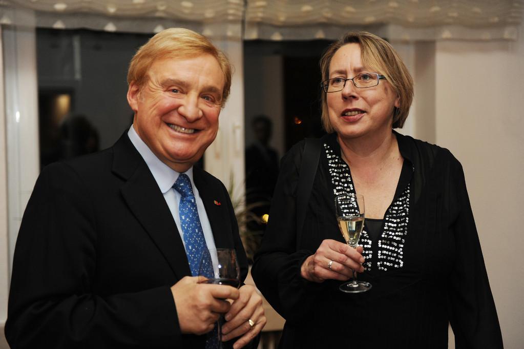 Olivier Kirsch und Gabi Hartmann