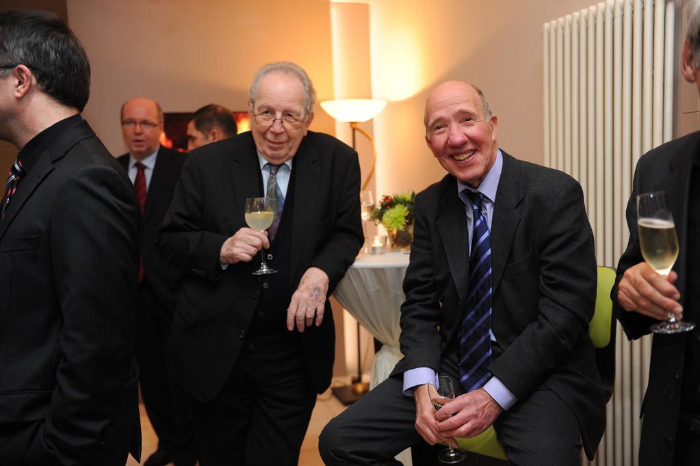 Hans-Dieter Metz und Prof. Axel Buchholz