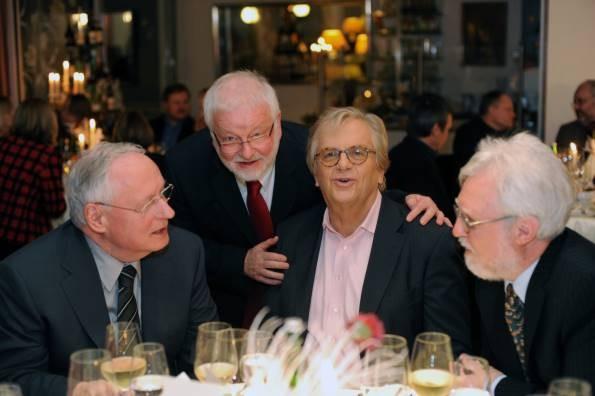 Oskar Lafontaine, Benedikt Otto, Prof. Justus Frantz, Michael Kuderna