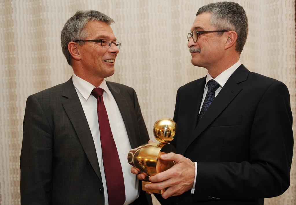 Minister a.D. Josef Hecken und Dr. Gunter Hauptmann