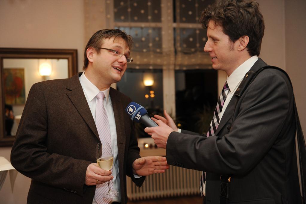 Christian Otterbach und Ulrich Hauck