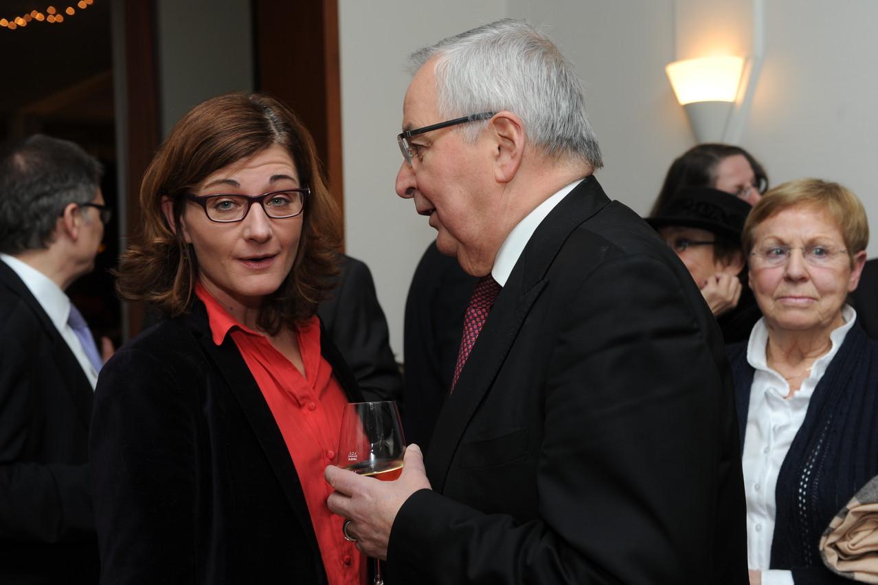 Barbara Spitzer, Prof. Klaus Töpfer, Mechthild Töpfer