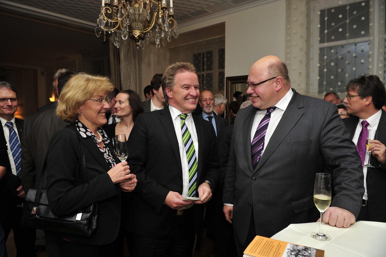 Dr. Brigitte Ludwig-Untersteller, Franz Untersteller, Peter Altmaier