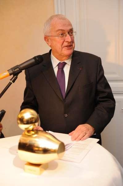 Philippe Leroy mit Goldener Ente