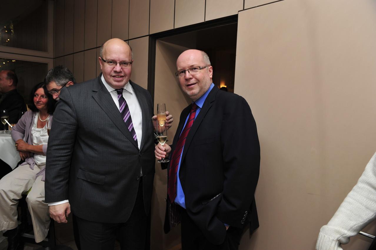 Peter Altmaier und Roman Bonnaire