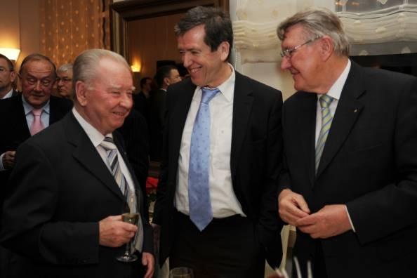 Klaus Altmeyer, Albrecht Herold, Clemens Lindemann, Prof. Heinrich Schüssler