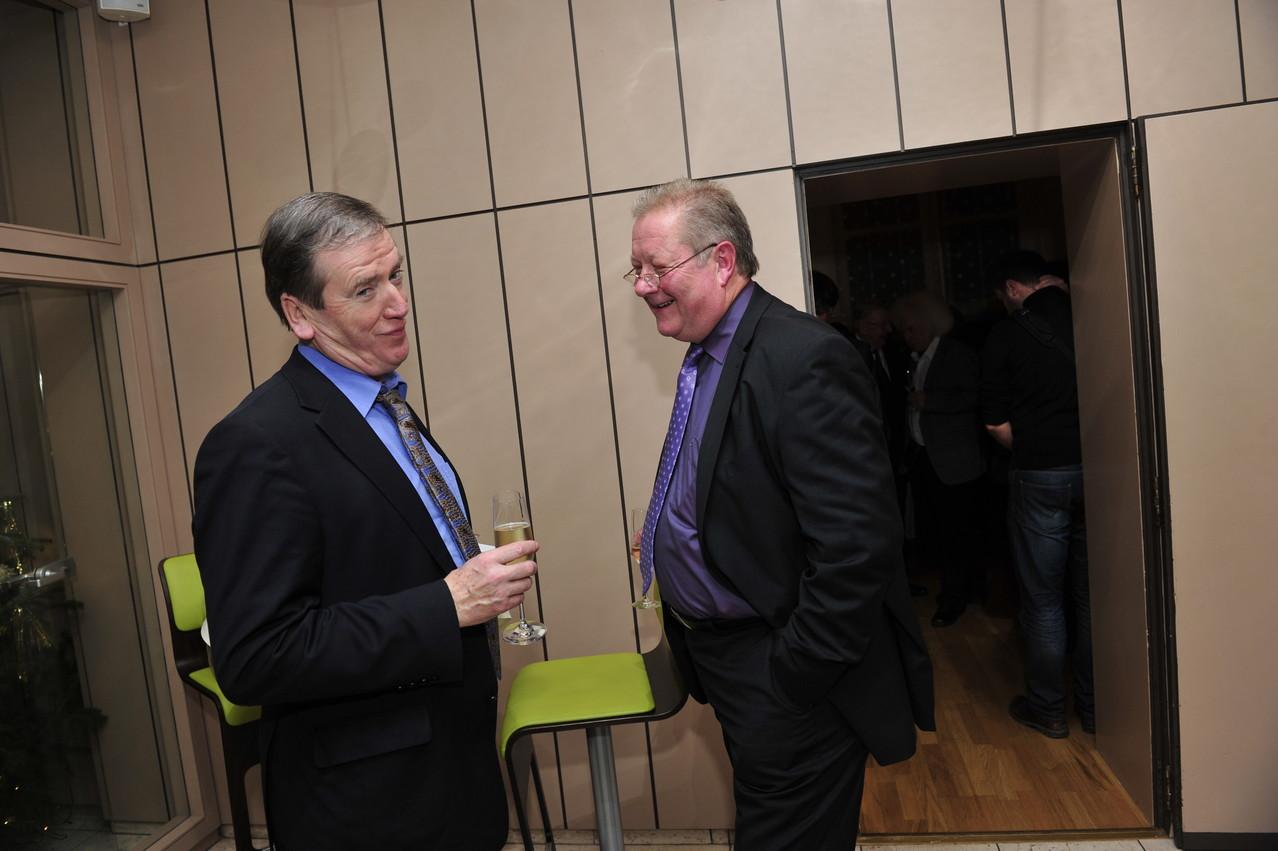 Clemens Lindemann und Lothar Warscheid