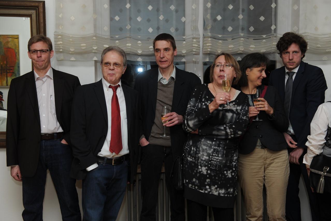 Jörg Hektor, Guido Peters, Wulf Wein, Gabi Hartmann, Karin Mayer, Ulrich Hauck
