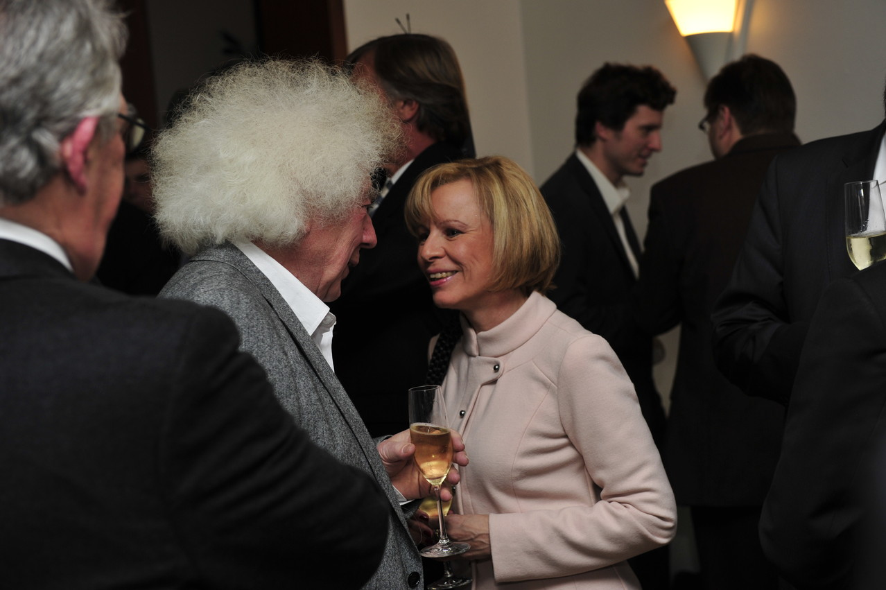 Prof. Robert Leonardy und Susanne Dahlem