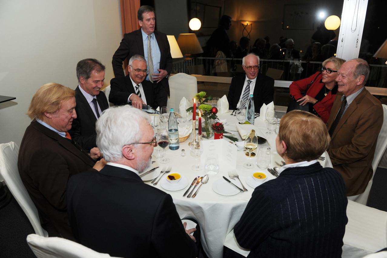 Olivier Kirsch, Jo Leinen, Norbert Klein, Clemens Lindemann, Clemens Sebastian, Ehepaar Plaetrich, Mechthild Töpfer, Dr. Michael Kuderna