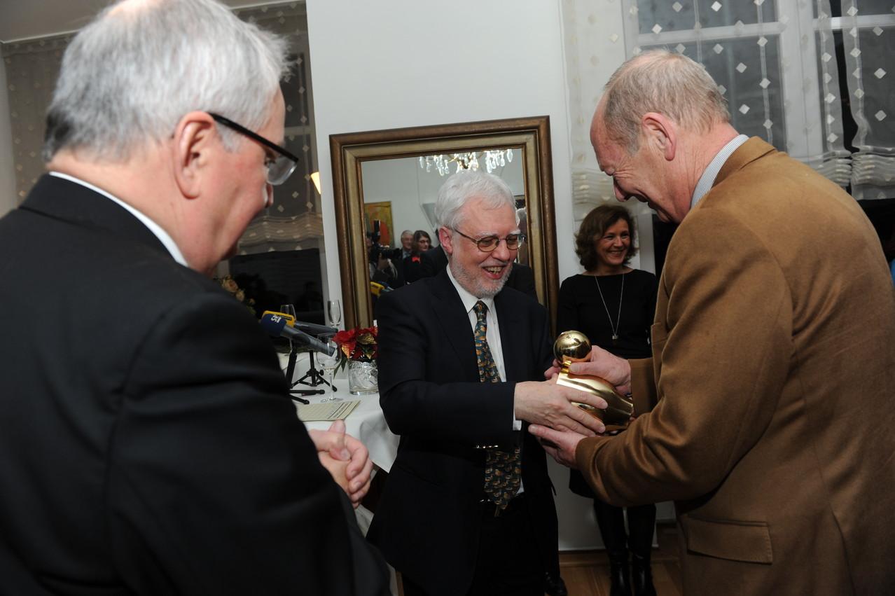 Prof. Klaus Töpfer, Dr. Michael Kuderna, Charlotte Britz, Manfred Plaetrich