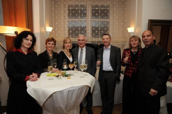 Daniela Bach, Brigitte Henkes, Verena Bisle, Norbert Klein, Willibrord Ney, Marlene Grund, Asgar Abbaszadeh