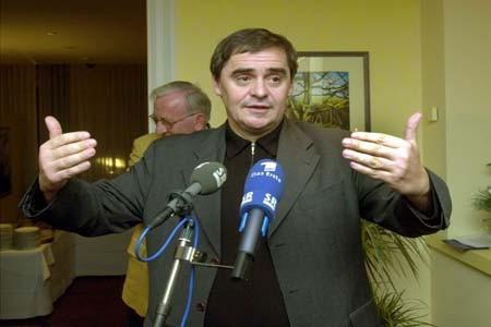 Peter Müller bei seiner Ansprache
