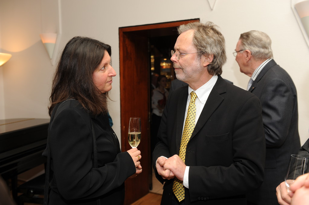 Empfang: Marie-Luise Bersin, Volker Hildisch