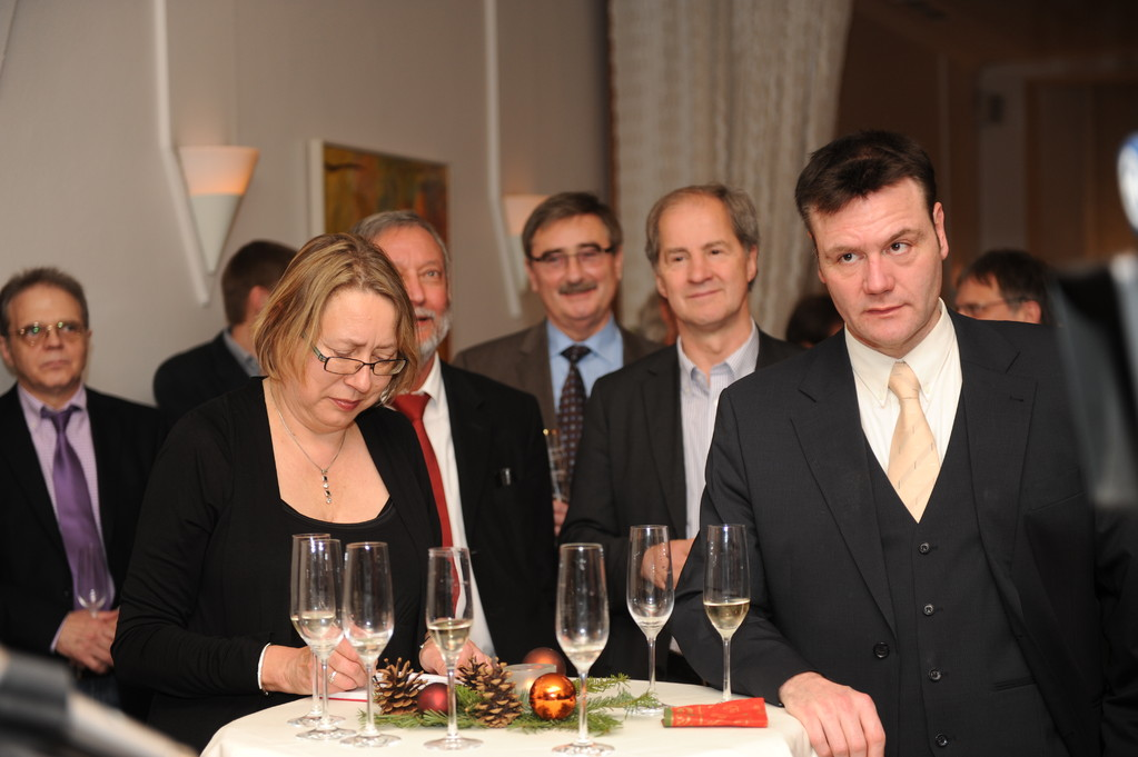 Guido Peters, Gabi Hartmann, Georg Brenner, Rolf Linsler, Jo Leinen, J. Dieter Maier