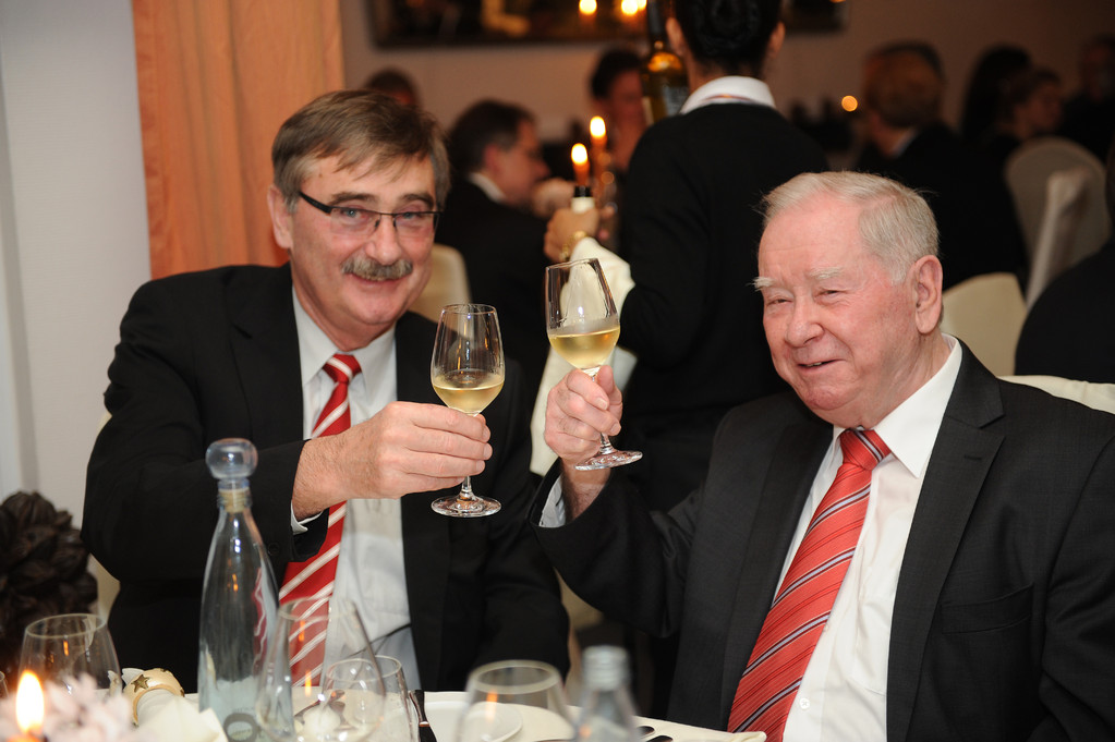 Rolf Linsler und Albrecht Herold