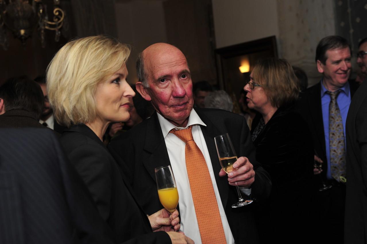 Verena Bisle und Prof. Axel Buchholz