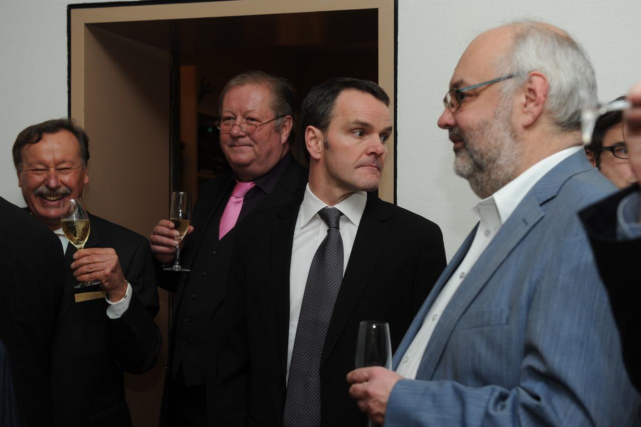 Udo Riedesel, Lothar Warscheid, Klaus Pliet, Jean-Claude Wolff