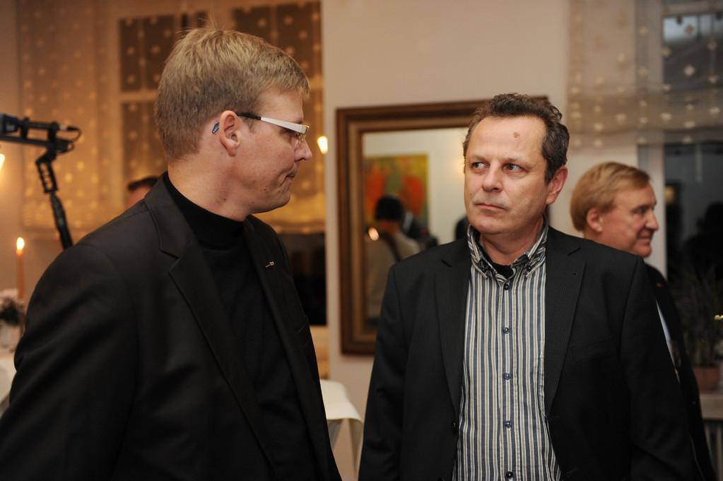 Jörg Hektor und Jörg Fischer