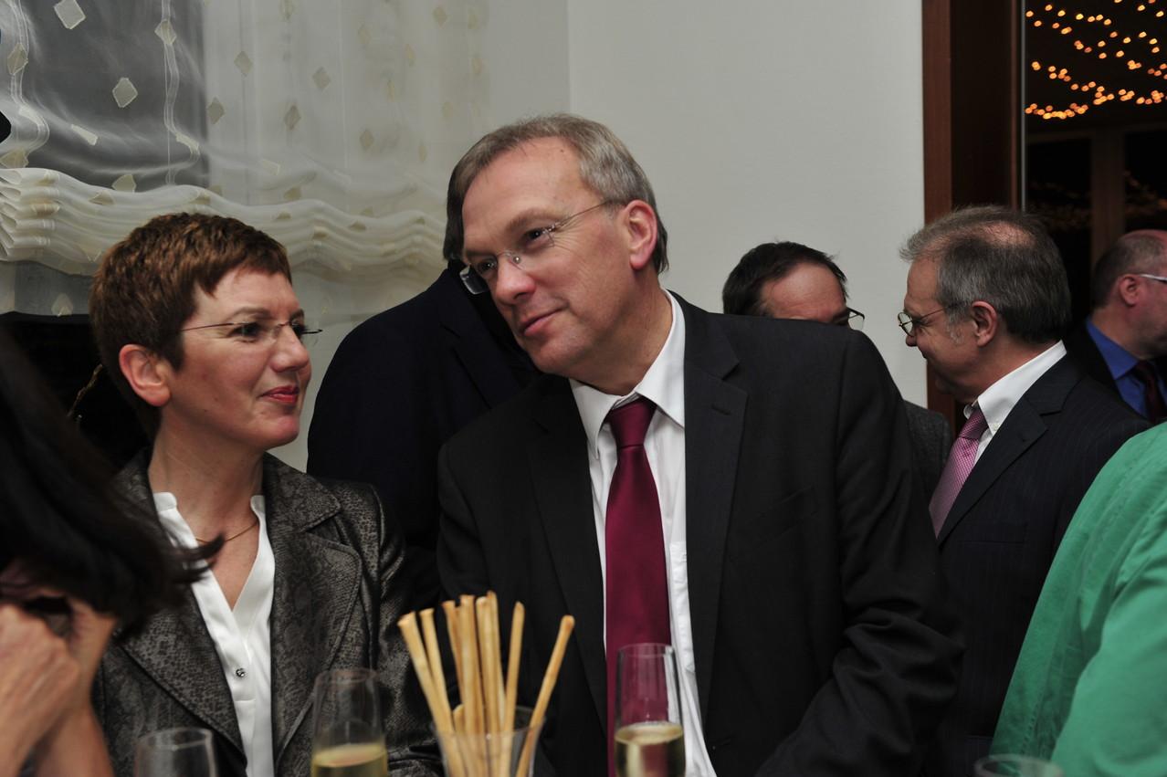 Brigitte Henkes und Udo Recktenwald