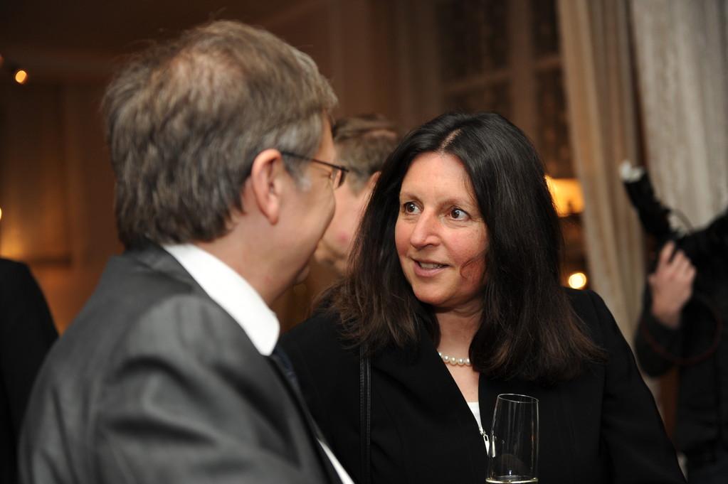 Empfang: Burckhard Jellonnnek, Marie-Luise Bersin
