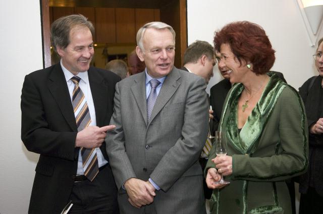 Jo Leinen, Jean-Marc Ayrault, Charlotte Britz