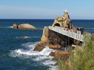 Biarritz - Rocher de la vierge