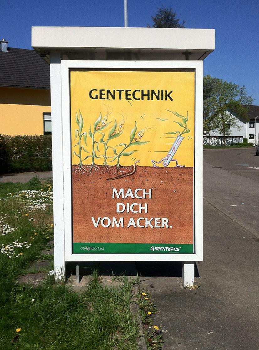 Illustration und Plakat für Greenpeace Deutschland