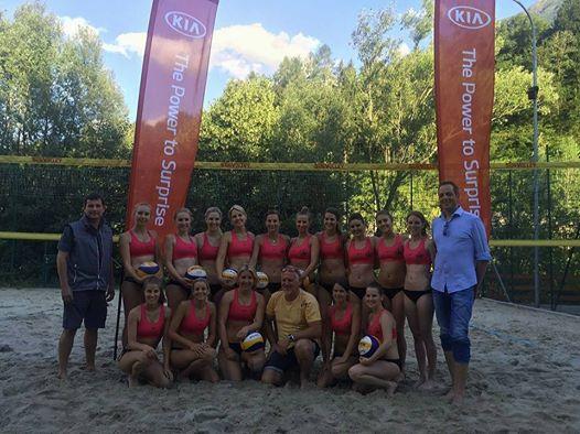 Beachsaison 2016 mit Sponsor KIA Center Pongau