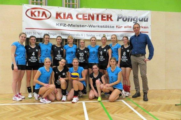 Hallensaison 2015/16 mit Sponsor KIA Center Pongau