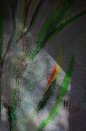"""""""Transformationen"""", 2012, Kunst- und Kulturzentrum b-05, Montabaur, Raummalerei """"Inside out"""""""