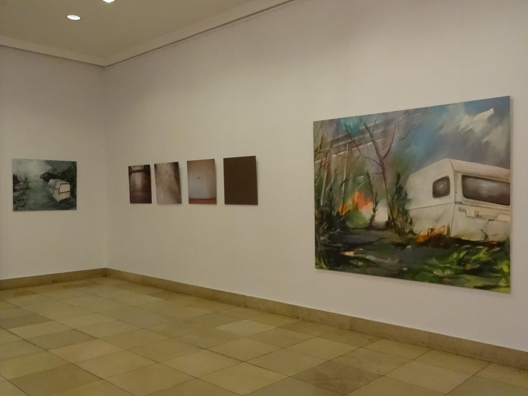 """""""Ortsumgehung"""", Ausstellung Landtag Mainz, 2013, mit Cornelia Rößler"""
