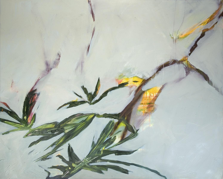 o.T., 2008, 120 x 150 cm, Öl und Acryl a.L.