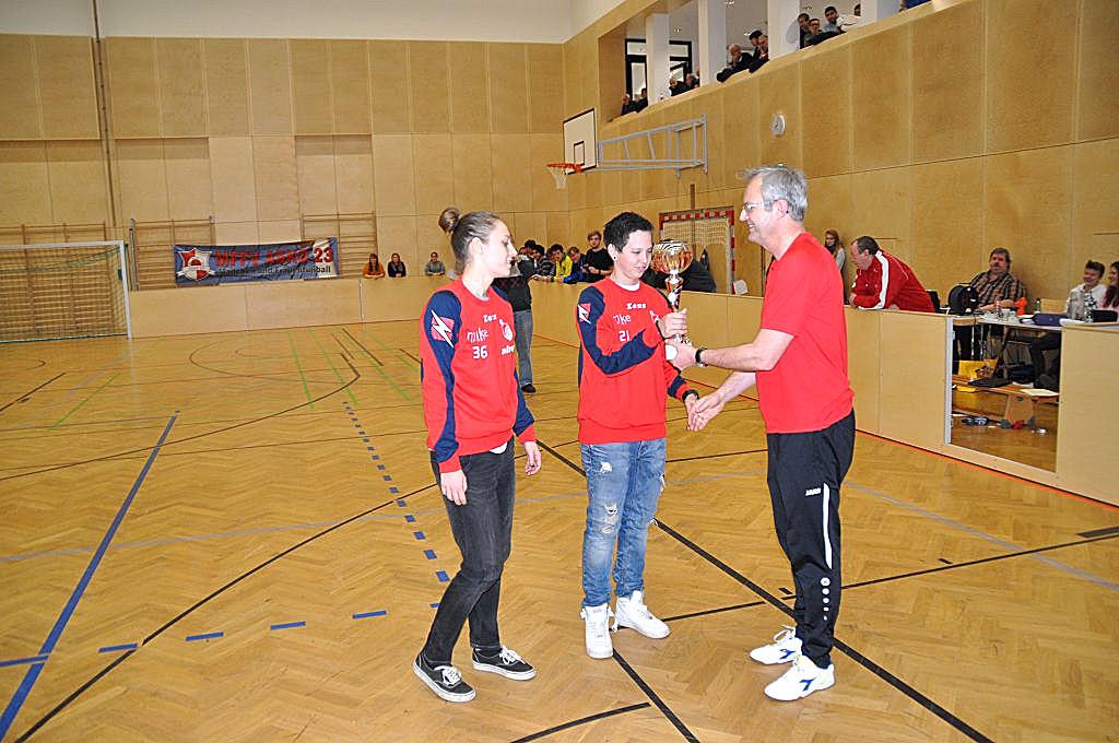 1. Platz (ASKÖ Wien Landesmeisterinnen) ASK Erlaa