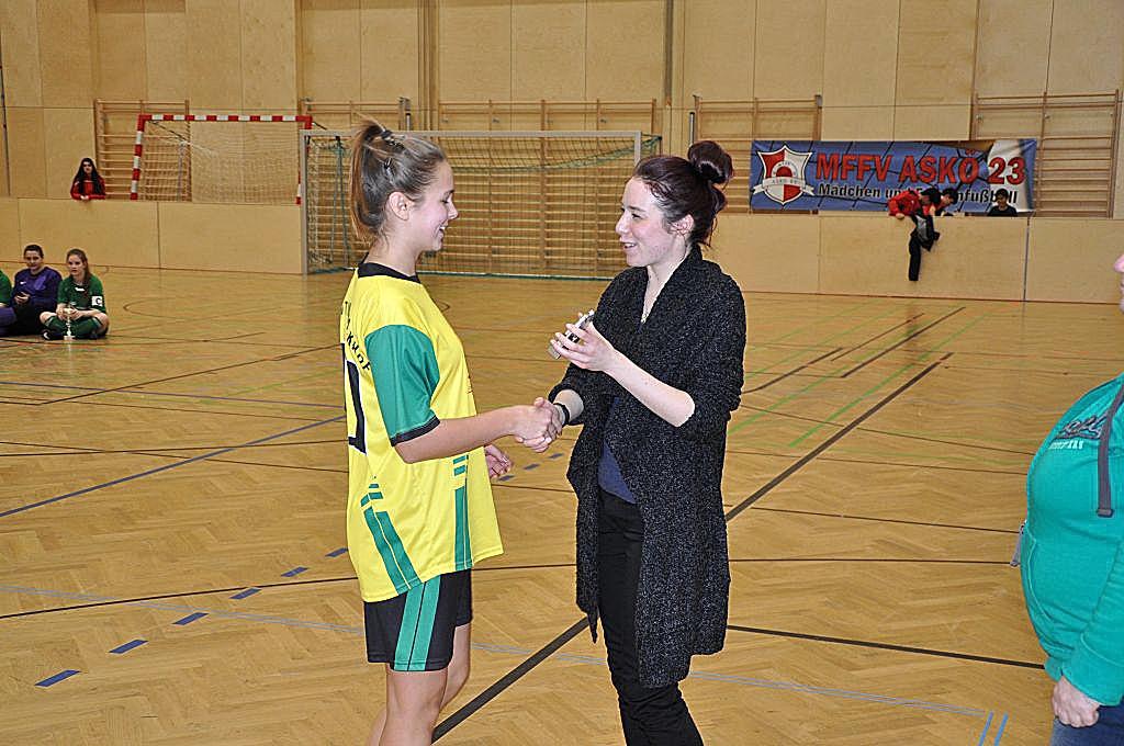 Beste Torschützin: Alexandra Ehlers (7 Tore), SC Mautner