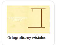 każdy wyraz z trudnością ortograficzną - zapisz go poprawnie wybierając litery z klawiatury