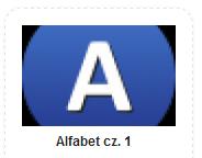 ułóż litery w kolejności alfabetycznej
