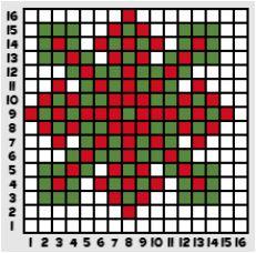 mozaiki według wzoru trudne