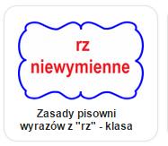 """zasady pisowni wyrazów z """"rz"""""""