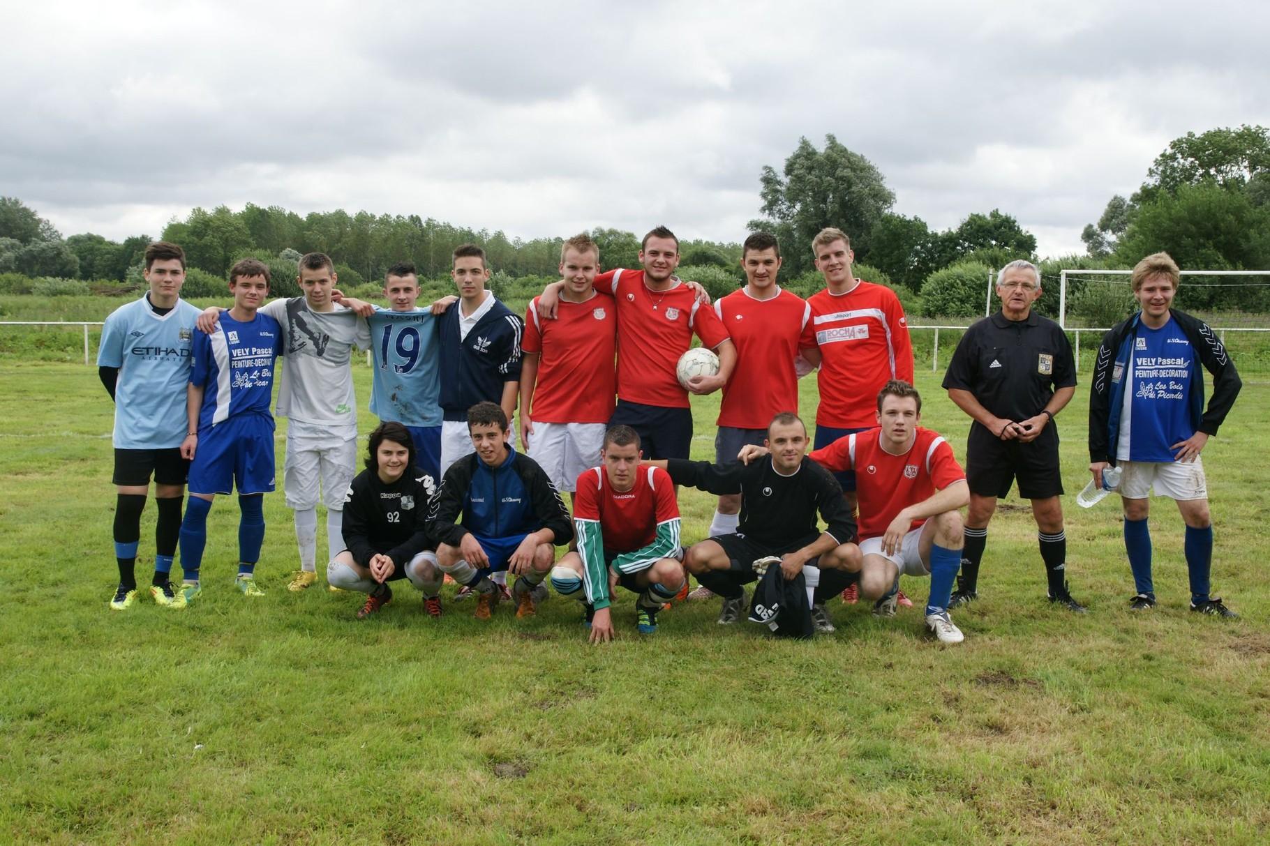 14 Juillet (2014) et tournoi Foot