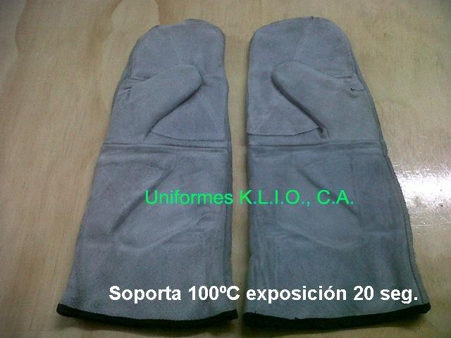 Guantes de Hornero Largo.