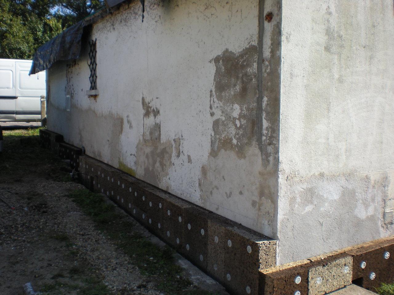 Liège en pied de mur