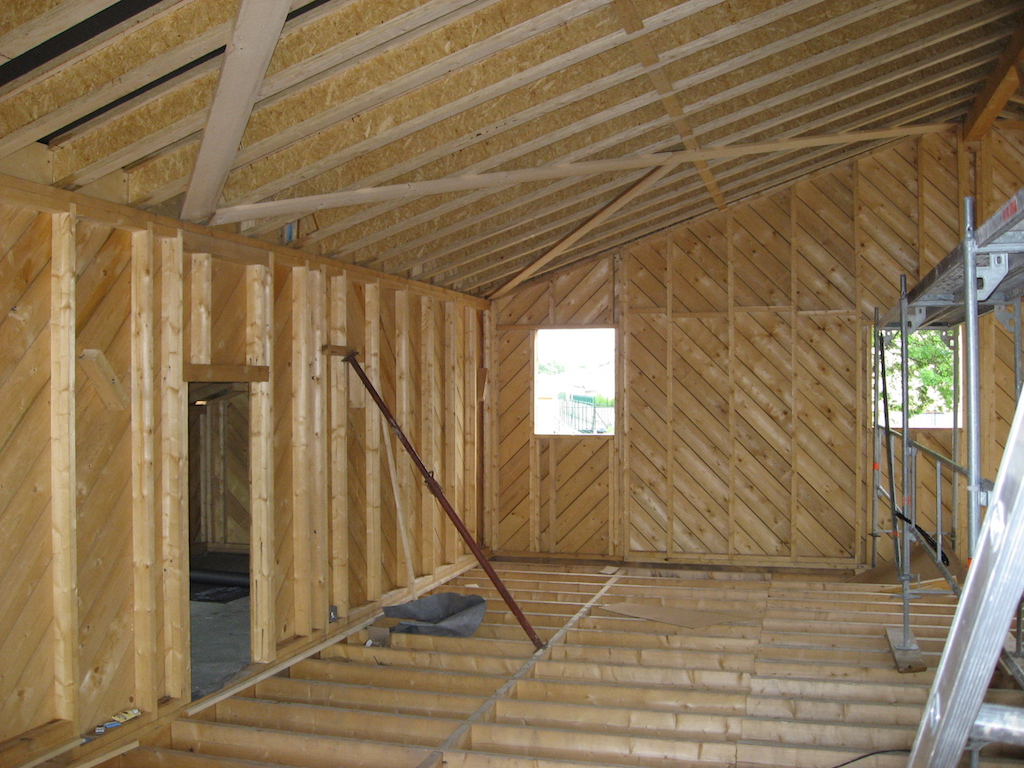 Sol + murs + toit