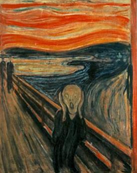 (« Le cri », Munch)