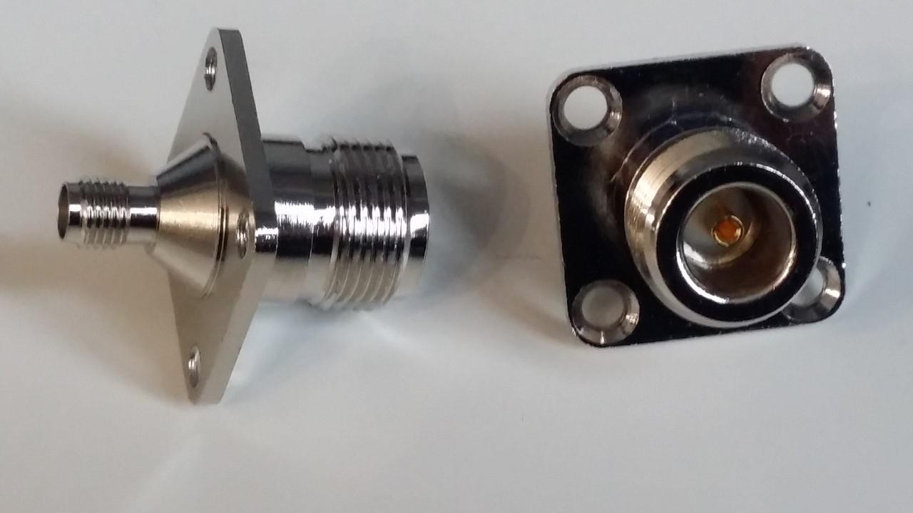 5 pollici HSeaMall PL259 Adattatore per connettore coassiale con connettore maschio femmina a femmina BNC BNC female plug to SMA female 10 Pack